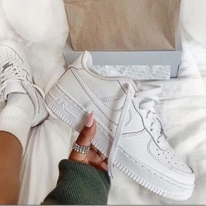 NEW White Air Force 1s